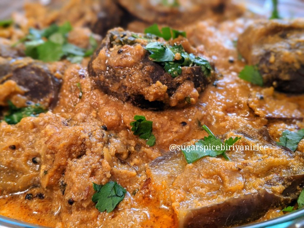 Spicy Brinjal curry