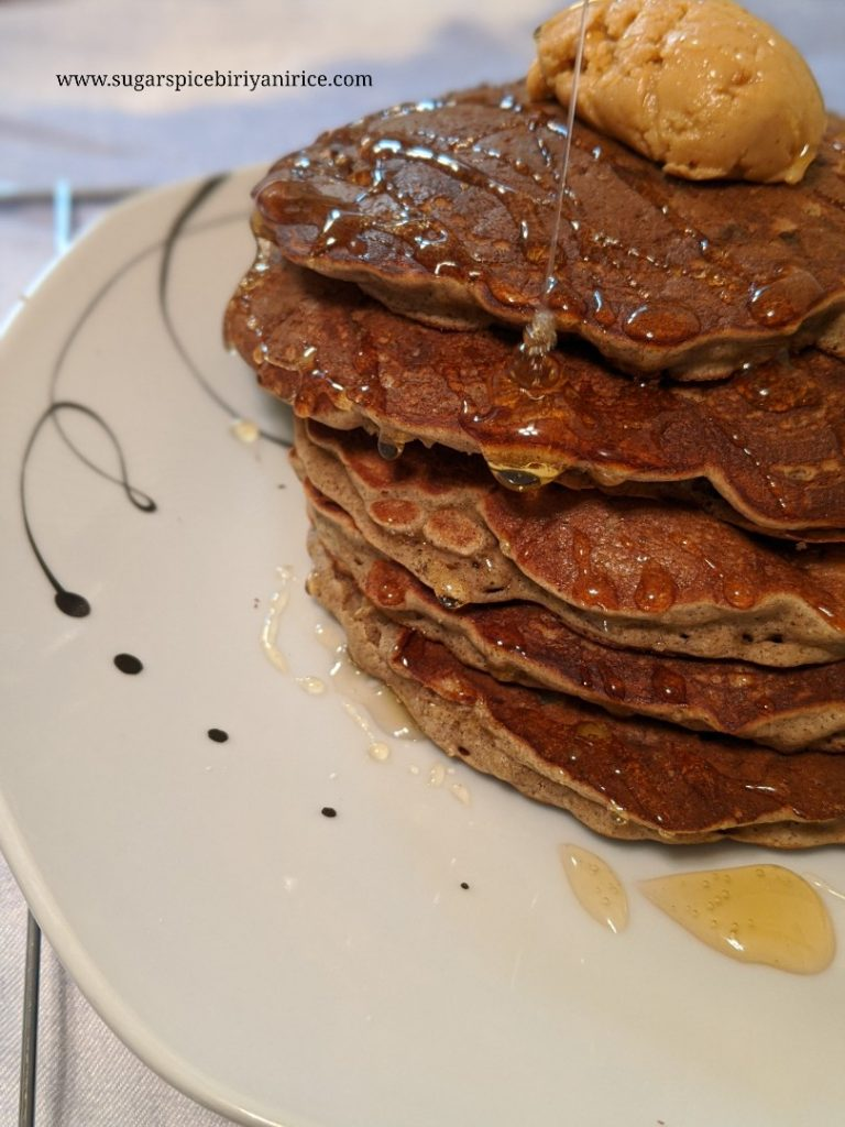 Apple Multigrain pancakes