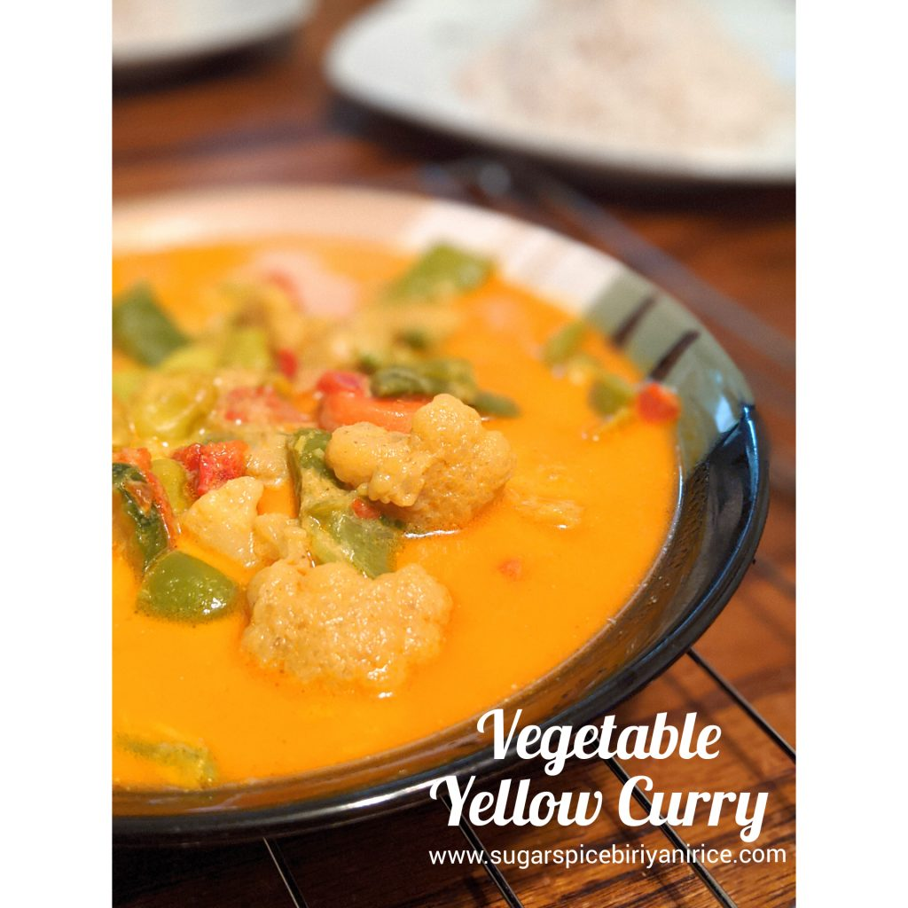 Vegetable yellow curry
