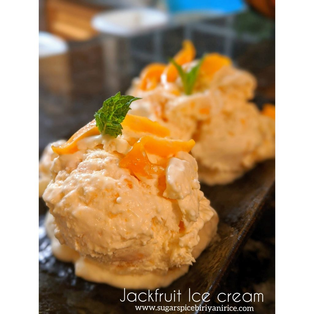 jackfruit ice cream